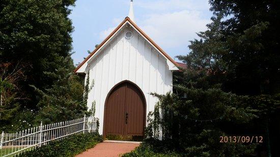 Patti's Settlement 1880's: chapel