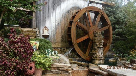Patti's Settlement 1880's: water wheel