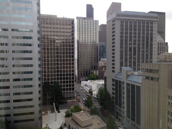 Sheraton Seattle Hotel : View from 18th floor room.