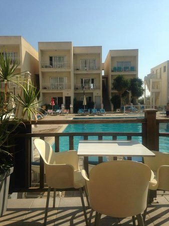 Sweet Memories: View from the pool side bar