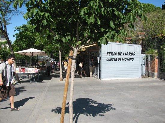 Hotel Paseo del Arte: Feira do livro proximo ao hotel