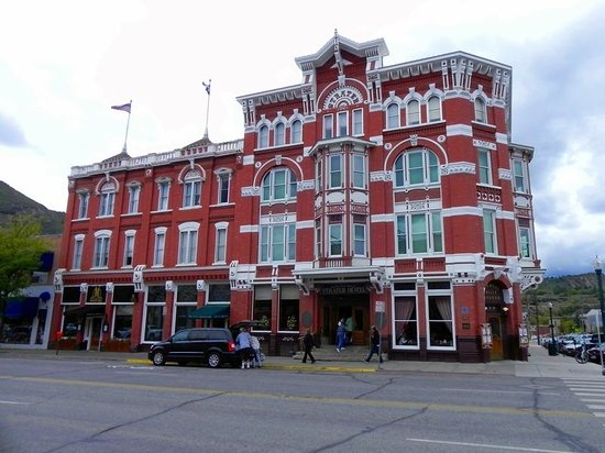 general palmer hotel picture of historic downtown. Black Bedroom Furniture Sets. Home Design Ideas