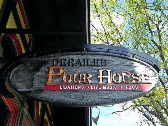 Historic Downtown Durango: Saloon Sign