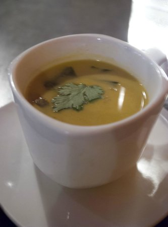 Fiction Kitchen: This was a soup special, Can't recall what though.