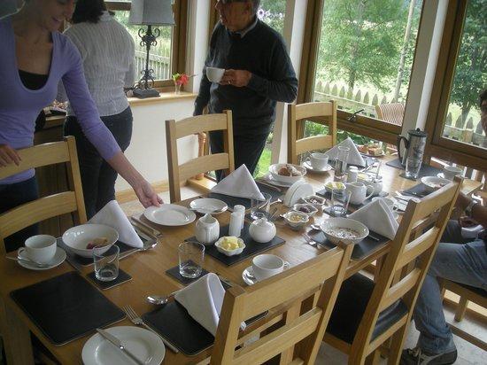 Benvrackie: Sala colazione