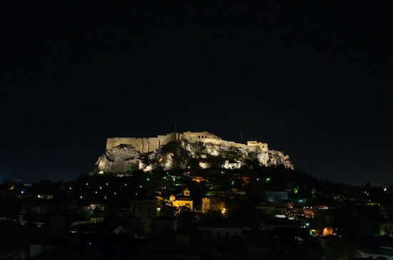 Electra Palace Athens: View from the restaurant