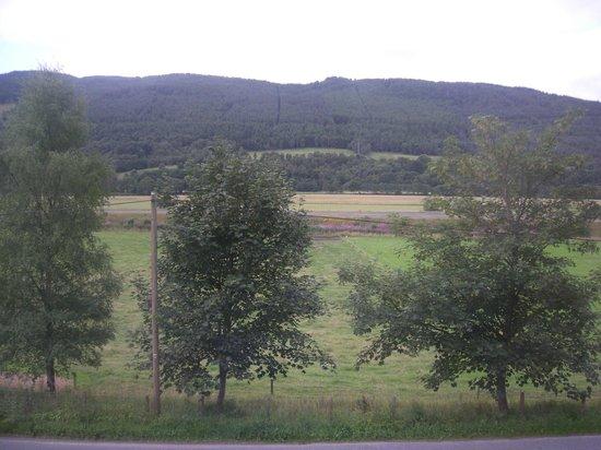 Benvrackie: Panorama dalla camera