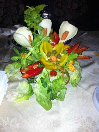 Relais Eliceto: sculture vegetali