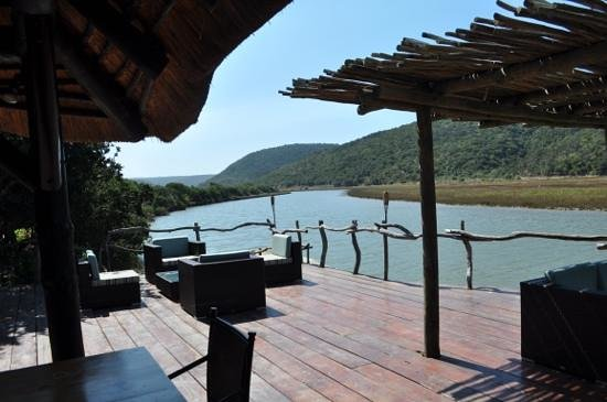Kariega River Lodge: River view