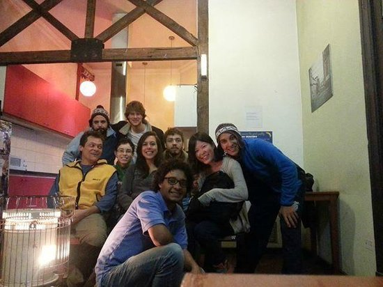 Santiago Backpackers Hostel: Meet new people!