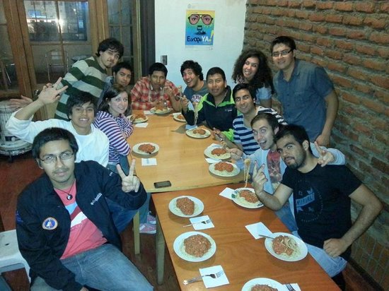 Santiago Backpackers Hostel: Join us for Free Dinner every Tuesday!