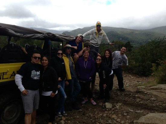 Alpine Adventures Outdoor Recreation : the group shot at the top of the mountain