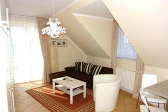 Tarnewitzer Hof: Wohnzimmer in einem Appartement