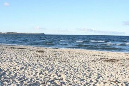 Tarnewitzer Hof: herbstlicher Strand