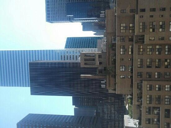 Fitzpatrick Manhattan Hotel: View from our room