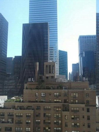 Fitzpatrick Manhattan Hotel : View from our room