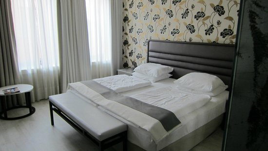 H10 Berlin Ku'damm: il letto doppio