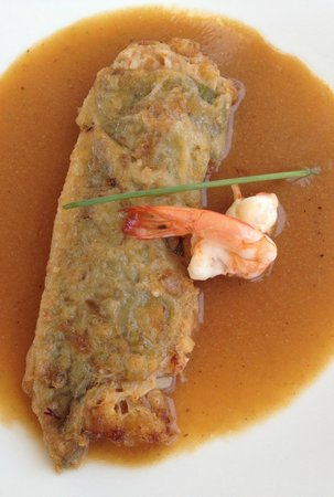 Restaurante Kate Zaharra: PIMIENTOS RELLENOS DE TXANGURRO