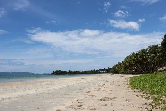 Qi Palawan: Первый пляж