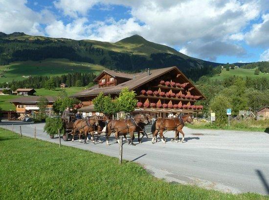 Hotel Alpenland Lauenen: Erholung pur