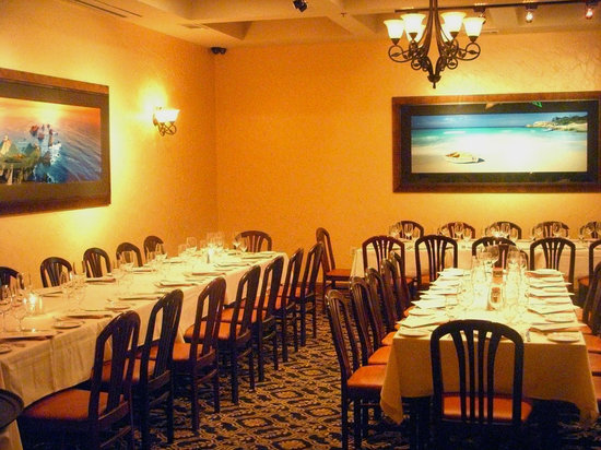 La Scala One Of 3 Private Dining Rooms Our Isola Room Can Accomodate Up