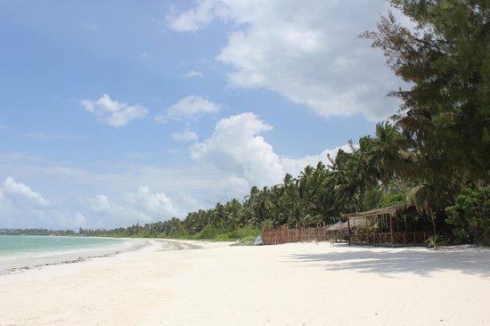 Santa Maria Coral Park: Playa