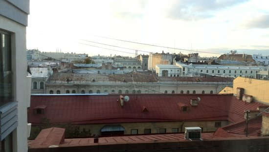"""W St. Petersburg: """"Great"""" view from the hotel window"""