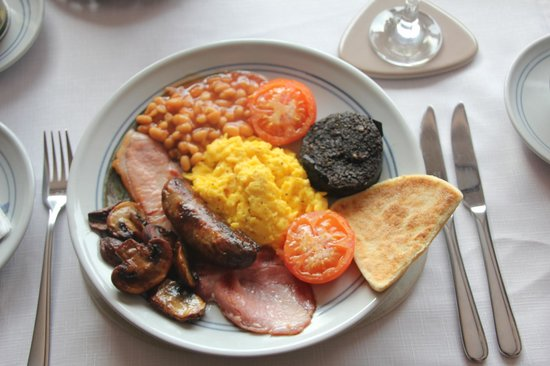 Suainaval: Full cooked Scottish breakfast