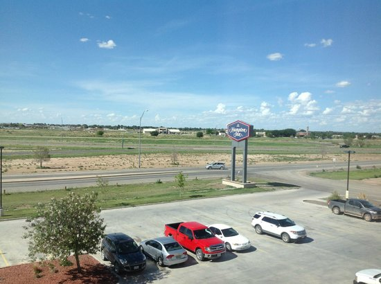 Hampton Inn Pecos: view from hotel