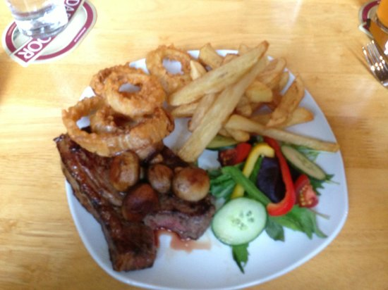 The Drewe Arms: Steak