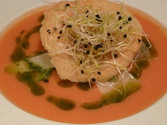 Le Tournesol: Tomato soup to die for