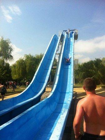 La Châtaigneraie : Trip to the waterpark