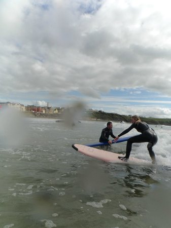 Lahinch Surf Centre - Day Course: second lesson