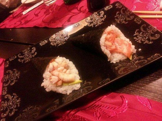 Ichiban: Coni gambero e salmone