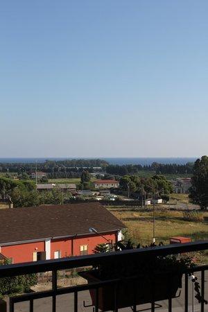 Hotel 106: Panorama dalla camera