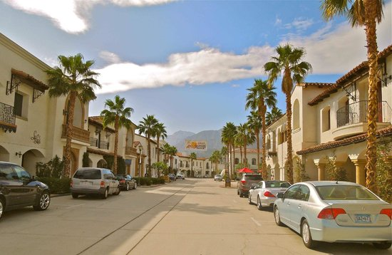 Main Street in Old Town La Quinta