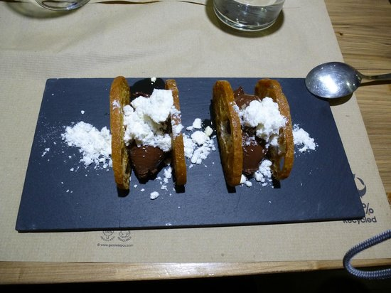 TocaTeca: Typical catalan dessert