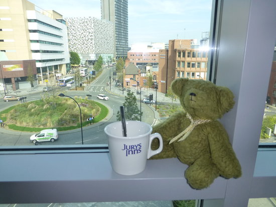 Jurys Inn Sheffield: room with a view