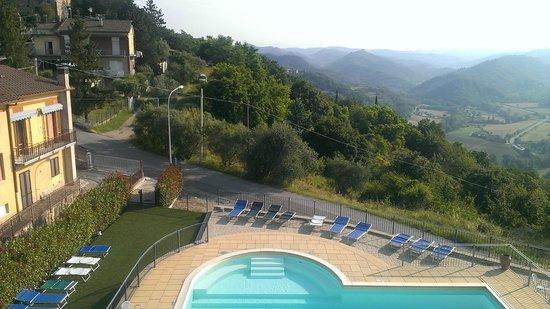 Hotel Fortebraccio : nice vieuw