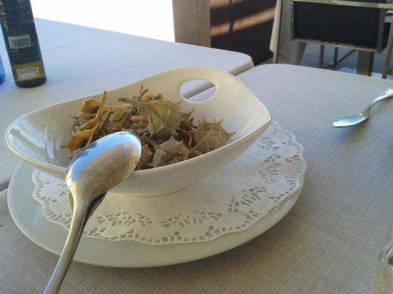 Restaurante Miramar: Caracoles mar