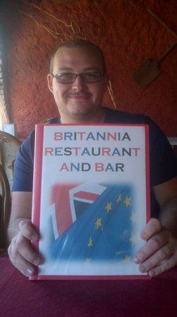Me at the Britannia