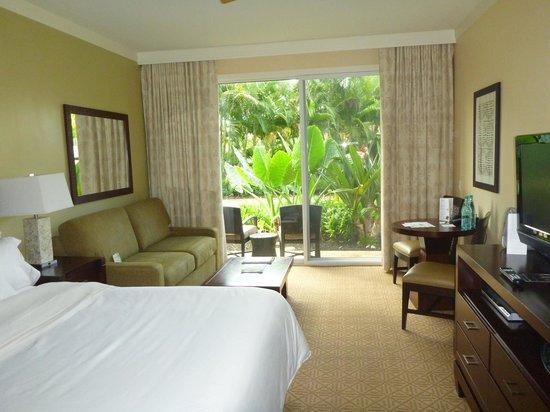 Westin Princeville Ocean Resort Villas : 部屋
