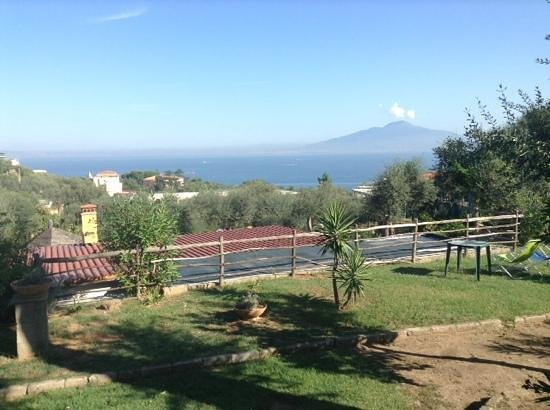 Casale Antonietta: view from the room