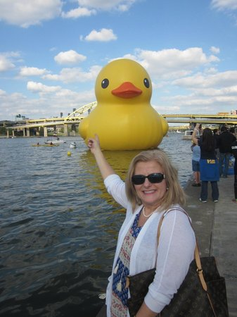 Point State Park: Me and the Ducky