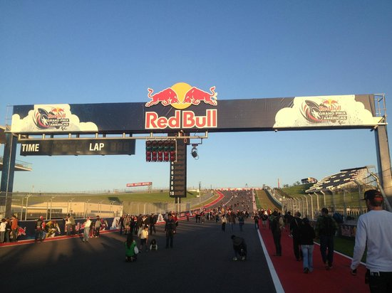 General Admission Trackside Picture Of Circuit Of The