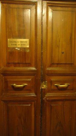 Locanda al Viminale: Front Door