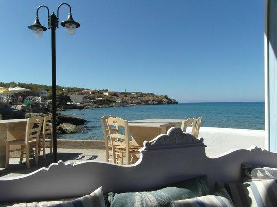 Delfini Hotel : Seaview from restaurant