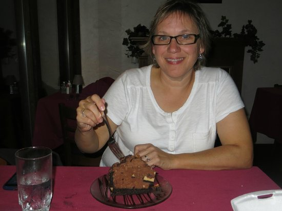 Greenbrier Restaurant : Chocolate Eruption!!