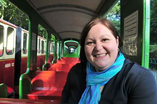 North Bay Railway: Inside the carriage