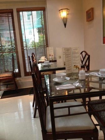 Twenty Nevern Square: breakfast room